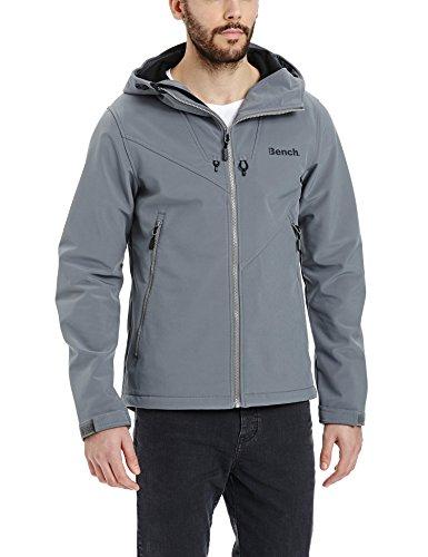 Bench giacca con cappuccio Path, Uomo, PATH, grigio, L