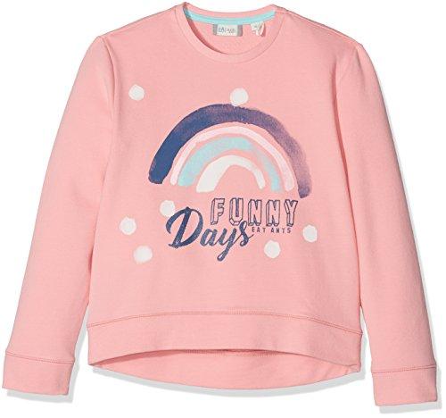Sanetta Mädchen 124808 Sweatshirt, Rosa (Candy 38047), 140