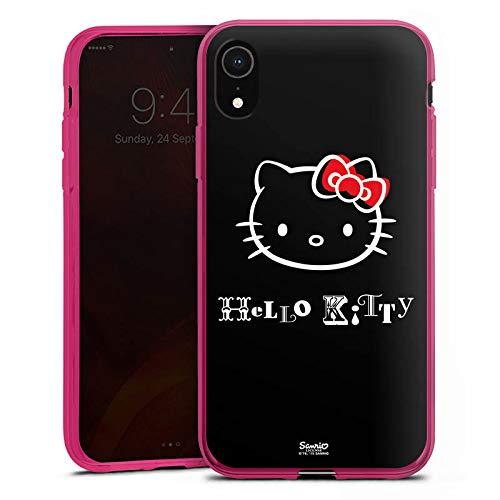 DeinDesign Silikon Hülle Case Schutzhülle für Apple iPhone Xr Hello Kitty Merchandise Fanartikel Love