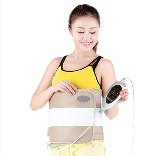 ZW Weit Infrarot Hitze warme Palast halten Gewicht Verlust abnehmen Gürtel Elektro-thermische Schutz Gürtel Taille Teller Massage Ausrüstung , C (Abnehmen Salbe)