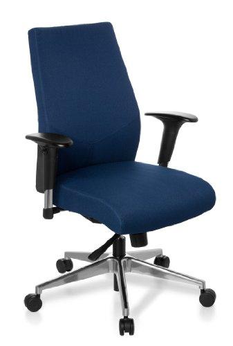 hjh-office-608710-burostuhl-drehstuhl-pro-tec-250-stoff-dunkelblau-feste-polsterung-profi-drehstuhl-