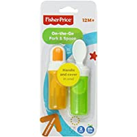 Fisher-price On-the-go Fork And Spoon Set, Neutral [Y3507]