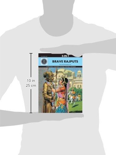 Brave Rajputs: 5 in 1 (Amar Chitra Katha)