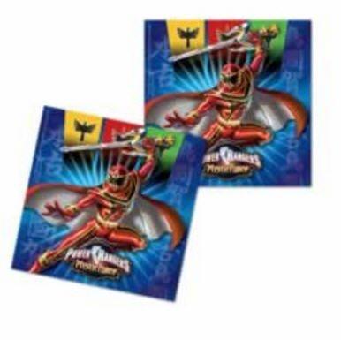 20 Servietten Power Rangers (Power Rangers 20)