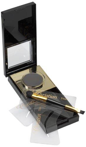 Christian Brow Kit de maquillage semi permanent pour les sourcils Noir