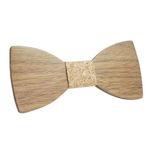 SØDERBERGH designer Holzfliege Hochzeit Party Bow Tie Hackenverschluss, Farbe:Variation 19