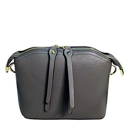 Di Modo Delle Signore Di Grande Capienza Messenger Bag Multi-color Grey