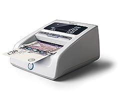 Safescan 155i Automatisches Falschgeld Prüfgerät, 6-fache Falschgelderkennung, grau