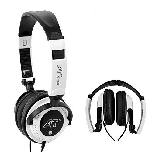 Pro Surround Gaming Headset - Dolby 7.1 Surround Sound Kopfhörer für PC, funktioniert mit Xbox One, PS4, Nintendo Switch, iOS und Android Weiß weiß (Kleine Video Game Organizer)