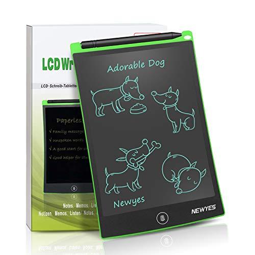 NEWYES Schreibtafel LCD Writing Tablet, 8,5 Zoll, Papierlos für Schreiben Malen Notizen (Grün) (Apple Ipad Verwendet Billig)