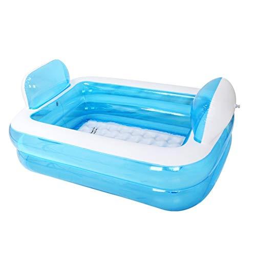 Relaxbx Kinderaufblasbare Familien-Pool-Swimmingpool-Erwachsen-Badewanne (Erwachsenen-badewanne Thermometer)