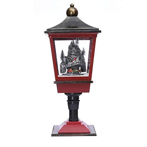 DMMASH Weihnachtsdekorationen, Weihnachtsdekorationen, Schneemusie, Pendulum Lichter,Brass