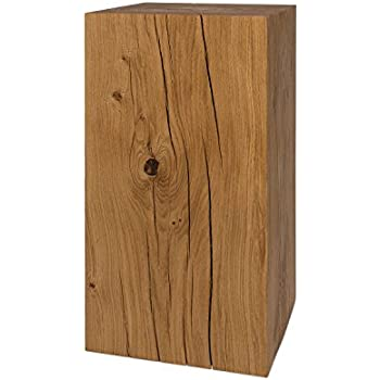 Holz 45 x 45 x 46.5 cm Jan Kurtz Hocker Braun