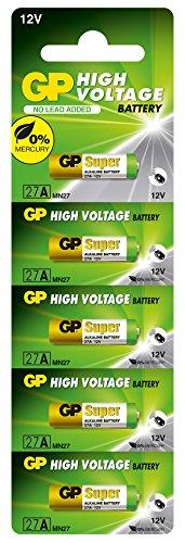 GP 27A-U5 Alkaline Batterie MN27 (12V, Einzelpack) Blister