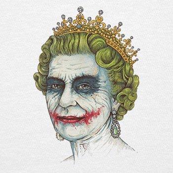 TEXLAB - The Queen - Herren T-Shirt Weiß
