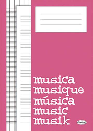Quaderno Di Musica (Block, Cahier de Musique) Livr...