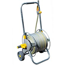 Hozelock Pro Metal Cart with 30m Hose