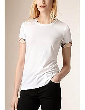 Tshirt manica corta pt3323 Burberry Donna Bianco