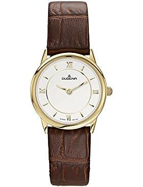Dugena Damen-Armbanduhr Modena - Modern Classic Analog Quarz Edelstahl 4460438