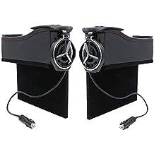 Organizador de bolsillo lateral PACK de 2 PAQUETES con doble USB: espacio de espacio libre