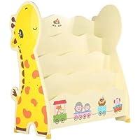 Preisvergleich für SZFMMY® Kinder-Bücherregal, Bücherregal, Aufbewahrung, Giraffenform