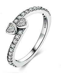 b42f26b7f4322 Amazon.co.uk: Crystal - Rings / Women: Jewellery
