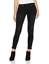 Pieces Pcfive Delly Black Wash/Noos, Jeans Femme