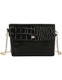 c9ec6b620cfc Alligator Pattern PU Leather Women Handbags Chain Crossbody Shoulder Bags