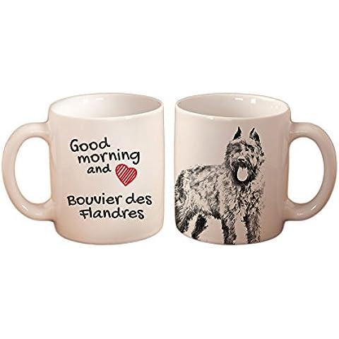 Bovaro delle Fiandre, Tazza con un cane, di alta qualità, tazza, ceramica, nuova collezione