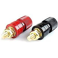All copper Pole js-555 Terminal M8 Arc Soldadura Máquina Inversor Potencia Cable Terminal Alambre Clip Amplificador Accesorios