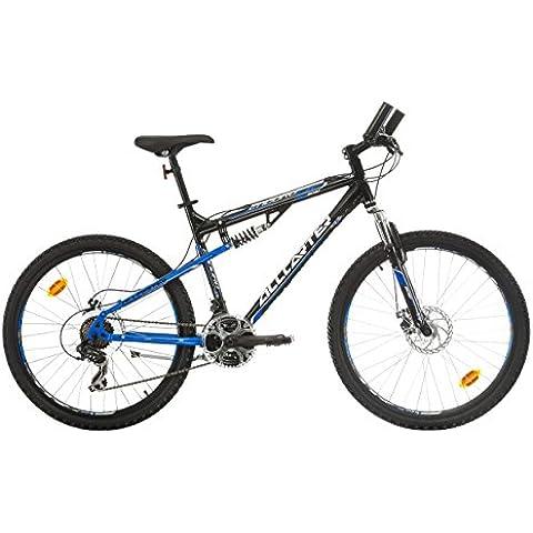 Allcarter ENDURO Bicicletta Doppia sospensione 26