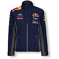 Red Bull Official Team Line Softshell Chaqueta para Mujer, Azul Navy, 40 (L