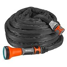 Gardena G18425-20, schwarz, anthrazit, orange, 10 m
