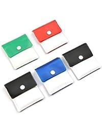 LABOTA Taschenascher-Portable-Zigaretten-Aschen-Pouch Compact Feuerbeständige PVC Geruchs- -Assorted Farben