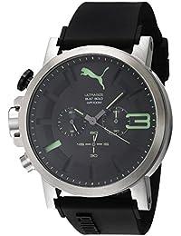 Puma Time Herren-Armbanduhr PU-Ultrasize 50 Bold luminous Analog Quarz Kautschuk PU103981005
