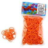 ELASTIQUES RAINBOW LOOM ORANGE