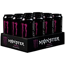 Monster Punch Energy Drink Can 500 ml (Pack of 12)