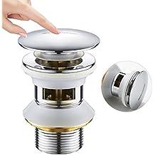 a3157809b42249 BONADE Universal Pop Up Rebondir avec Trop-plein pour Lavabo et Evier Bonde  Accessoire de