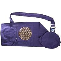 Berk YO-15-LI Meditations-Zubehör - Yoga Tasche mit Blume von Lebens, lila preisvergleich bei billige-tabletten.eu