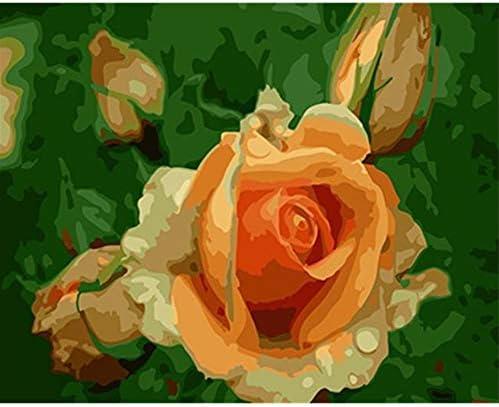 WACYDSD Puzzle Adulte 1000 Pièces Puzzle 3D Fleur De Bricolage Bricolage Décoration pour l'art De Mur De Salon | Couleur Rapide