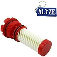xlyze Filtro de combustible para Mercury Marine Optimax Verado Motor fuera borda 35–8m002034935–884380t 35–8m0060041sierra 18–7981