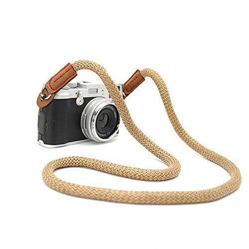 Sangles pour Appareils Photo, Courroie Appareil Photo SLR DSLR Vintage Bandoulière (Canon Nikon Sony Olympus Pentax,etc.) -100CM
