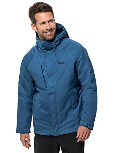 Jack Wolfskin Herren Troposphere Jacket M Wetterschutzjacke, indigo blue, XXL
