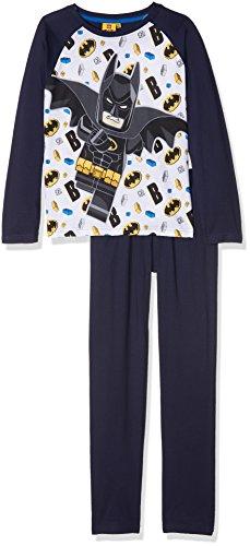 LEGO Batman Jungen Pyjama - marine blau - 110 (Batman Pyjama-hose)