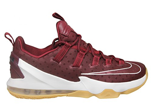 Nike Herren Lebron Xiii Low Basketball Turnschuhe, Rojo (Team Red / Sail-Black), 47 EU