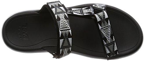 Teva Terra-float Lexi W's, Sandales de sport femme Noir - Schwarz (mosaic black 962)
