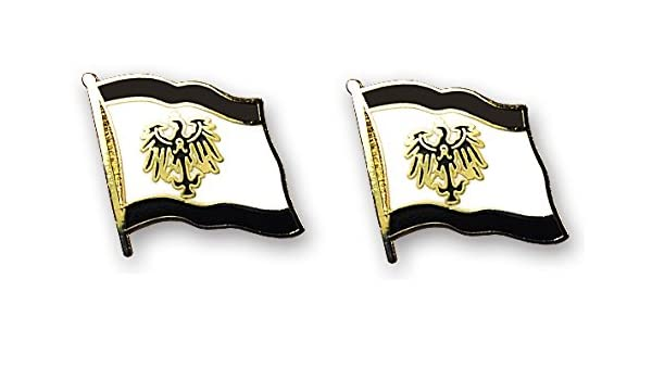 Yantec Flaggenpin 2er Pack K/önigreich Preussen Pin Anstecknadel Fahnenpin