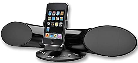 JVC XSSR3 BLACK SPEAKER SYSTEM IPOD SURROUND JVC [1] Pro-Series (Epitome Verified)