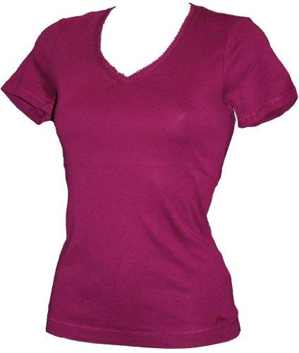 s.Oliver -  T-shirt - Maniche corte  - Donna rosa Rosa - Cerise Pink