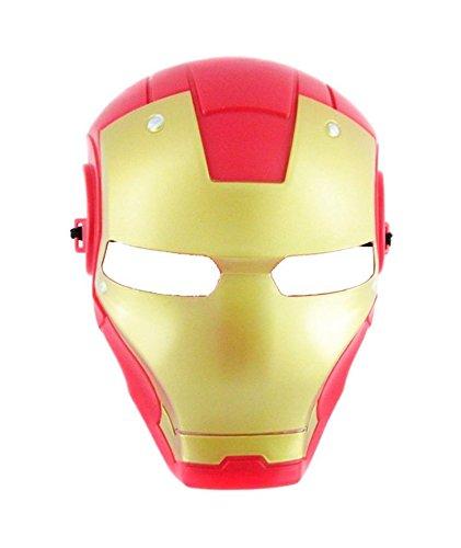 Disfrazjaiak Mascara Iron Man - Mascaras, Antifaces y Caretas